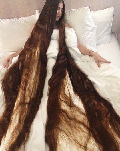 panjang rambut hingga 2 meter aliia dijuluki rapunzel di dunia nyata