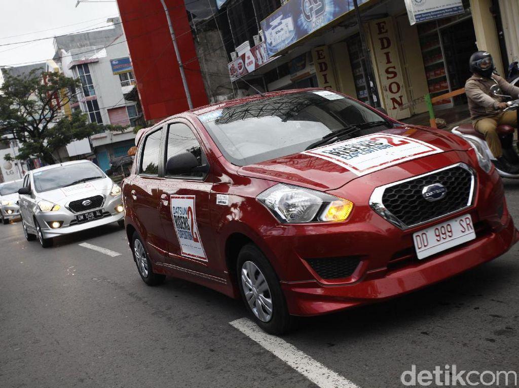 DRE 2 saat berkeliling di kota Makassar.