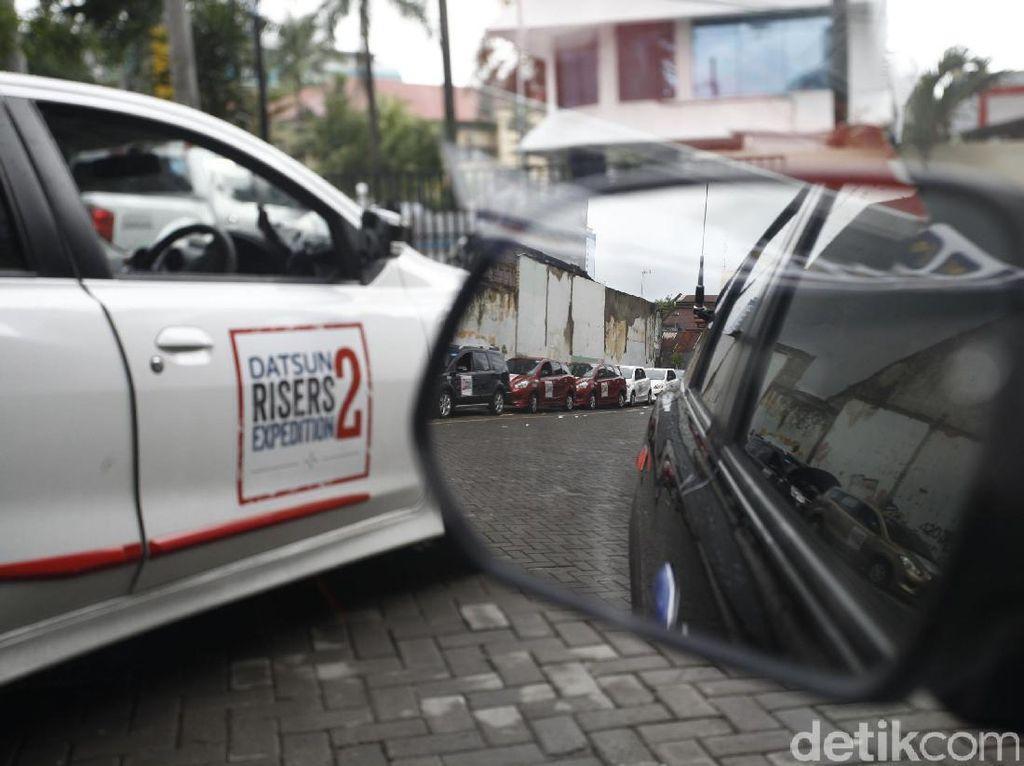 DRE 2 siap menjelajah di kota Makassar.