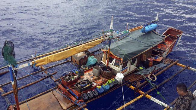 Sebanyak 17 Kapal Ikan Asing Ditangkap di Natuna dan Sulut
