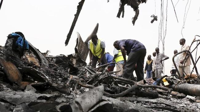Pesawat tersebut terbang dari Juba ke Wau. Juba, ibu kota Sudan Selatan, terletak di bagian selatan negara tersebut. (REUTERS/Jok Solomun)