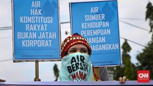 Walhi soal UU SDA: Kedok Investasi Dalih Kepentingan Rakyat