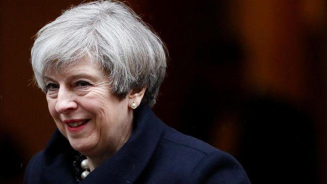 May Ancam Batalkan Brexit Jika Parlemen Masih Tolak Usulan