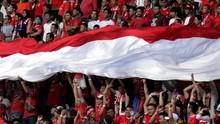 Diduga Teror Bom, Tiga Suporter Indonesia Ditahan di Malaysia