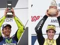 Beda 17 Tahun Valentino Rossi dengan Alex Rins