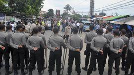 Dilarang Dishub Jabar, Polisi Jaga Kantor Transportasi Online