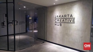 Mengintip Jakarta Creative Hub