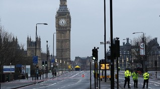 Polisi Inggris Kembali Tangkap Pelaku Penyerangan Polisi