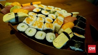 Tiramisushi, Sushi Rasa Cokelat Spesial Valentine