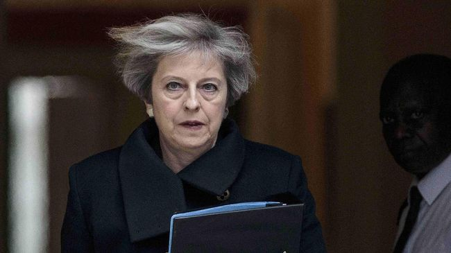 Theresa May Ancam Rusia soal Serangan Racun ke Eks Mata-mata