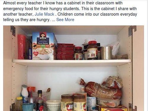 Kisah Guru Sediakan Makanan Agar Murid Lebih Konsentrasi