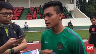 Kapten Timnas Indonesia U-19 Malu-Malu TC Bareng Luis Milla