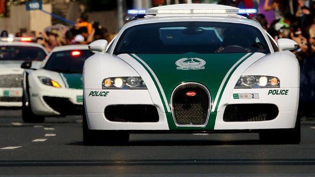 Bugatti Veyron Buat Polisi Dubai Jadi Tercepat di Dunia