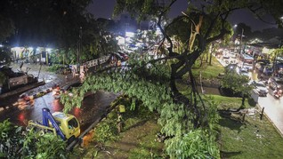 BMKG Jelaskan Sebab Fenomena Angin Kencang di Jawa