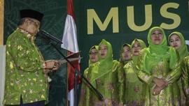 Ribuan Emak-emak Hijaukan Harlah Muslimat NU ke-73 di GBK