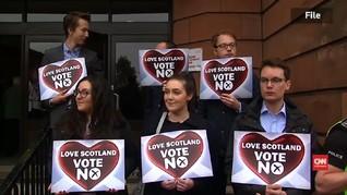 Parlemen Skotlandia Sepakat Pisah dari Inggris