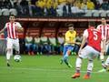 Brazil Unggul 1-0 atas Paraguay Saat Turun Minum