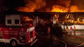 43 Buruh Tengah Tertidur saat Kebakaran Pabrik di India
