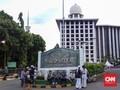 Polisi Tangkap Pria yang Ancam Meledakkan Istiqlal
