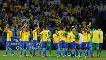 Timnas Brasil 21 Kali Tampil di Piala Dunia