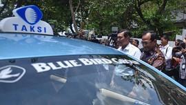 Tarif Taksi Blue Bird Listrik Sama dengan Konvensional