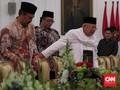 Ketua MUI Ma'ruf Amin Kembali Bertemu Jokowi di Istana