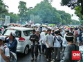 Massa 313 Long March Sambil Teriak Dukung Anies-Sandi