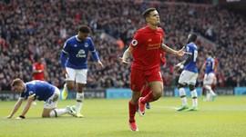 Momen-momen Pilihan Derby Merseyside Liverpool vs Everton