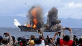 Susi Sebut Keputusan Lelang Kapal Asing Bukan Kebijakan KKP