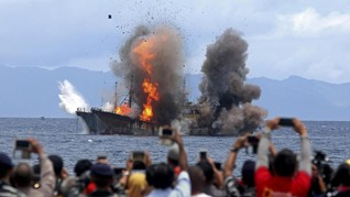 Nelayan Juga Tenggelamkan Kapal Asing karena Frustrasi
