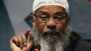 India Desak Interpol Rilis Red Notice untuk Zakir Naik