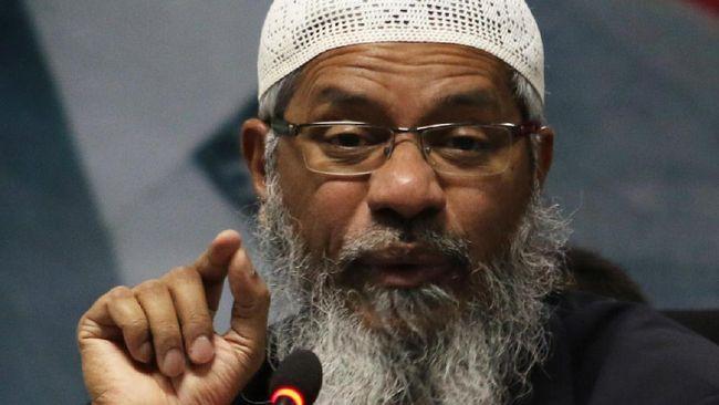 India Desak Malaysia Deportasi Penceramah Zakir Naik