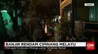 Cipinang Melayu Banjir, Petugas Evakuasi Warga