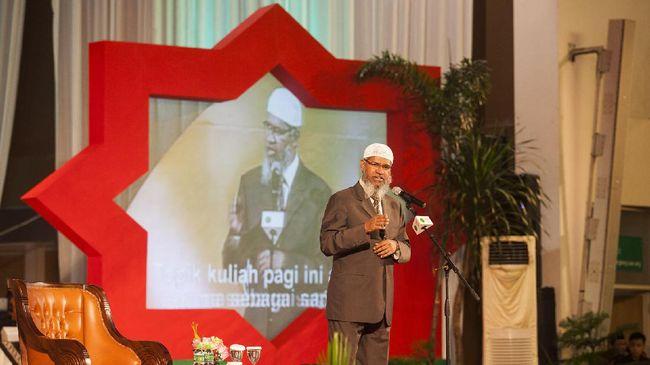 Kepolisian Malaysia Usut Dugaan Ujaran Kebencian Zakir Naik