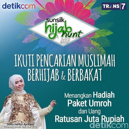 Besok, Sunsilk Hijab Hunt 2017 Gelar Audisi di Bandung!