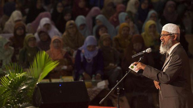 Nasib Status Zakir Naik Ada di Tangan Kemendagri Malaysia