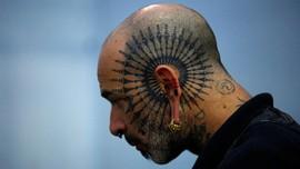 Kala Seni Merajah Tubuh Dirayakan di Nepal Tattoo Convention
