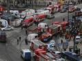 Ledakan Kereta di Rusia, Lalu Lintas Kota Lumpuh