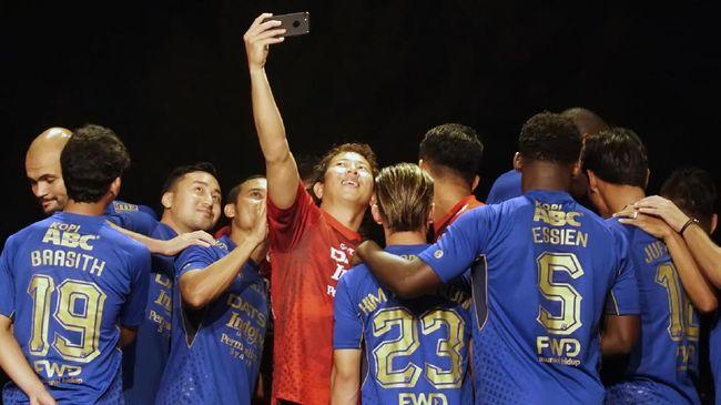 Skuat Persib Solid Dukung Kedatangan Roberto Carlos