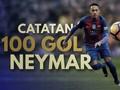 Catatan 100 Gol Neymar