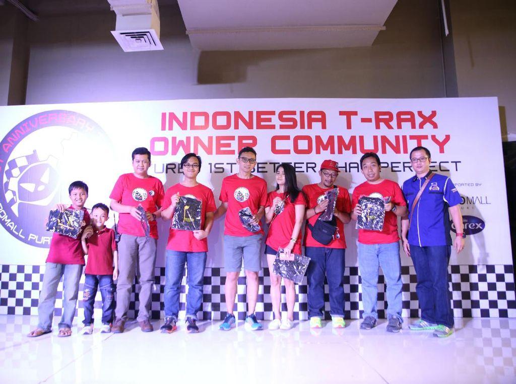 T-RAX sendiri mengagendakan berbagai kegiatan di tahun 2017 ini. Setelah sebelumnya melakukan touringnya yang pertama pada tanggal 4 sampai 5 Februari yang lalu. Tujuan touring perdana ini yakni kota Cirebon Jawa Barat. Dok, T-RAX Owner Community.