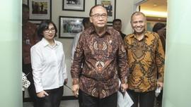 Usai Pimpin HUT TNI, Jokowi Melayat Istri Anggota Wantimpres