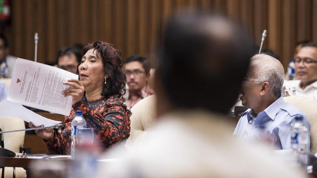 Komisi IV Restui Anggaran Menteri Susi Rp 9,14 triliun