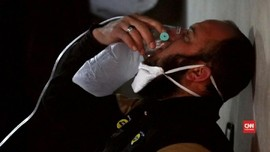 Ratusan Warga Idlib Menderita Usai Serangan Gas Kimia