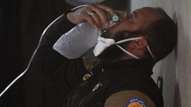 Amerika Serikat Sebut Suriah Siapkan Senjata Kimia di Idlib