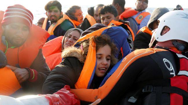Puluhan Pengungsi Balita Tenggelam di Pesisir Libya