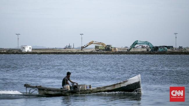 Sektor perekonomian di bidang maritim mendapatkan perhatian lebih dari pemerintah. Salah satunya adalah nelayan yang berperan besar dalam peningkatan perekonomian maritim. (CNN Indonesia/ Hesti Rika)