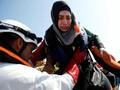 Potret Penyelamatan Imigran Libya di Laut Mediterania