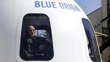 Perusahaan Jeff Bezos Jual Tiket Luar Angkasa Tahun Depan