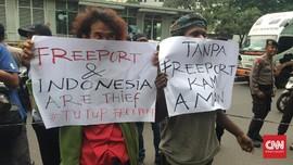 Merugikan Masyarakat, Mahasiswa Papua Demo Kantor Freeport
